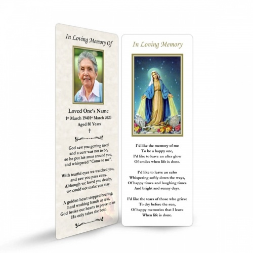 MAR16 Memorial Bookmark
