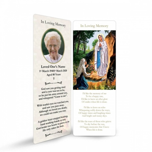 MAR18 Memorial Bookmark