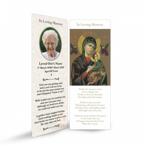 MAR21 Memorial Bookmark
