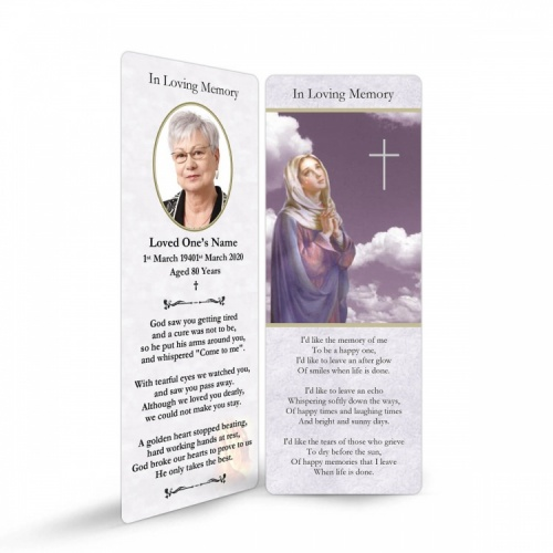 MAR22 Memorial Bookmark
