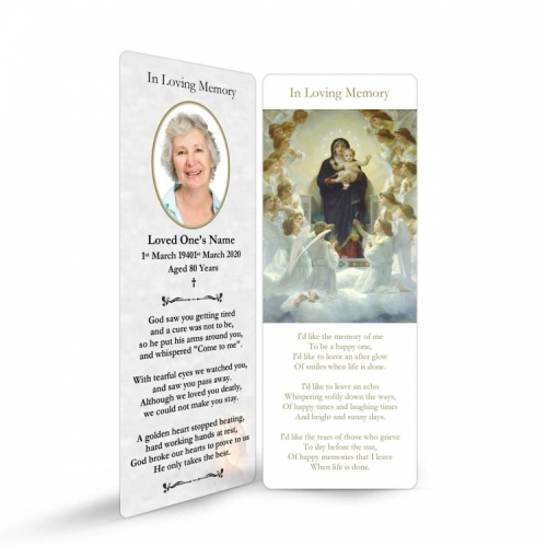 MAR29 Memorial Bookmark