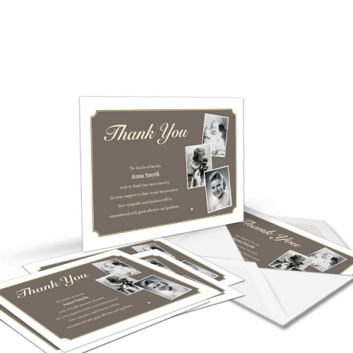 Re-Order Memorial Thank You Cards