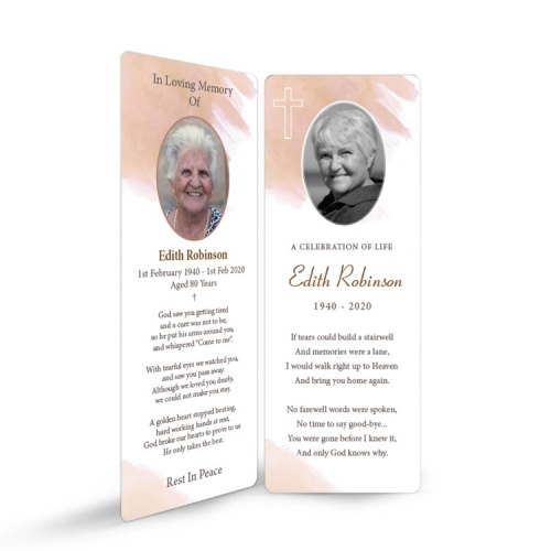 MOD10 Memorial Bookmark