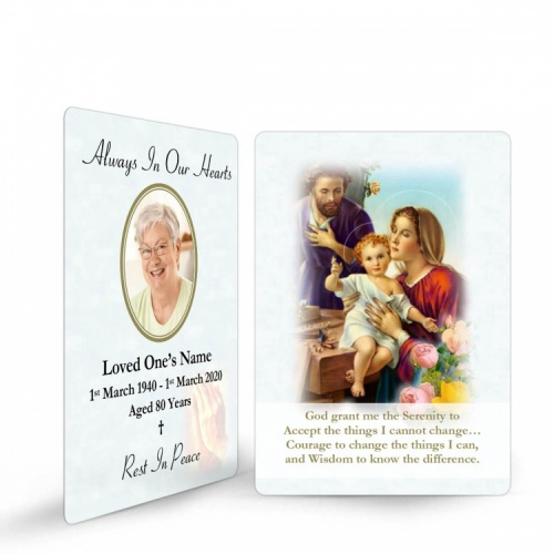 REG101 Memorial Wallet Card