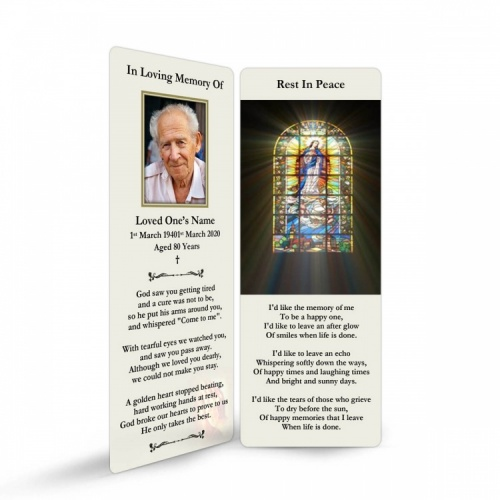 REG14 Memorial Bookmark