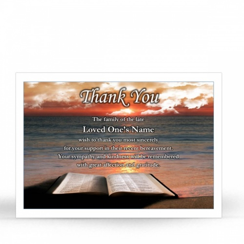 REG30 Memorial Thank You Card