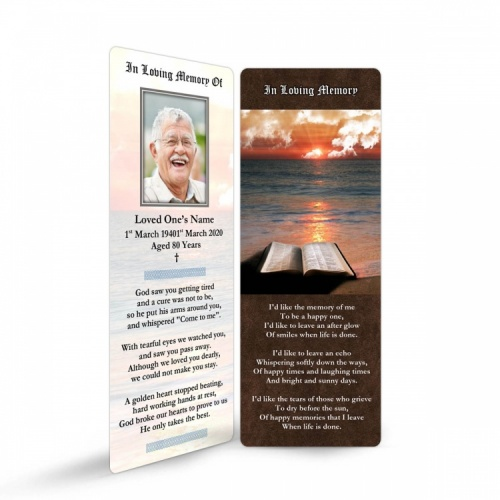 REG30 Memorial Bookmark