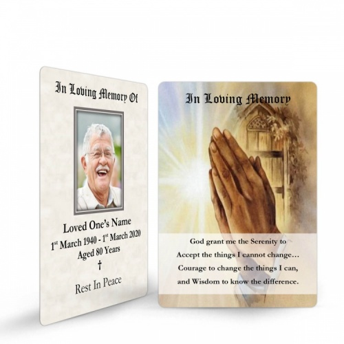 REG83 Memorial Wallet Card