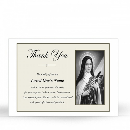 ST18 Memorial Thank You Card
