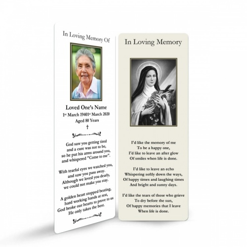 ST18 Memorial Bookmark