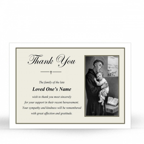 ST19 Memorial Thank You Card