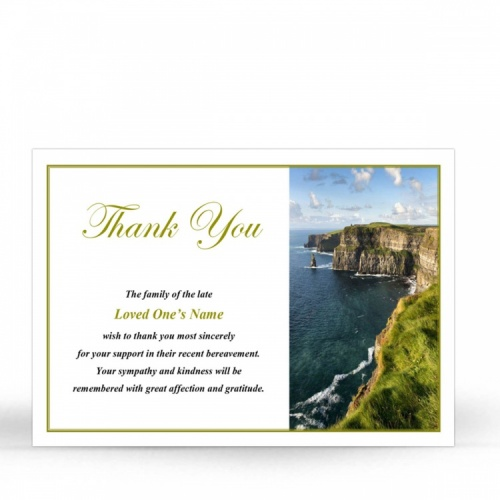 SCE07 Memorial Thank You Card