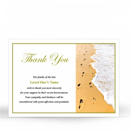 SCE23 Memorial Thank You Card