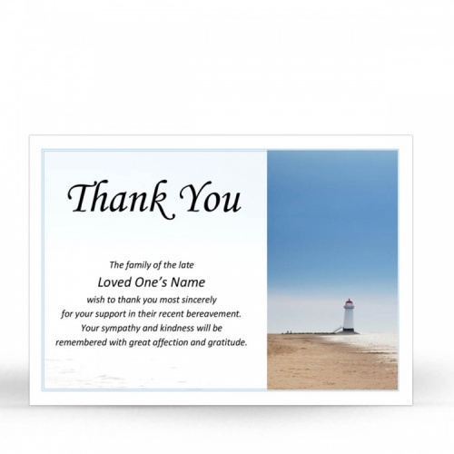 SCE55 Memorial Thank You Card