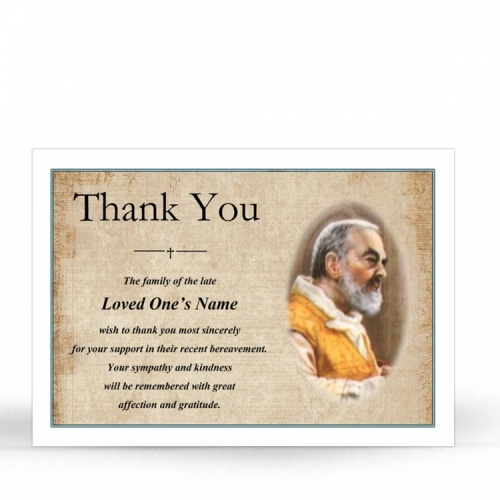 ST01 Memorial Thank You Card