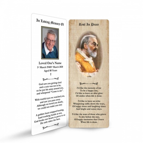ST01 Memorial Bookmark