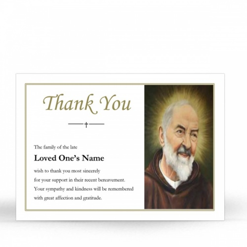 ST04 Memorial Thank You Card
