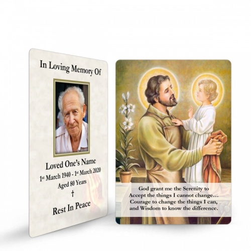 ST05 Memorial Wallet Card