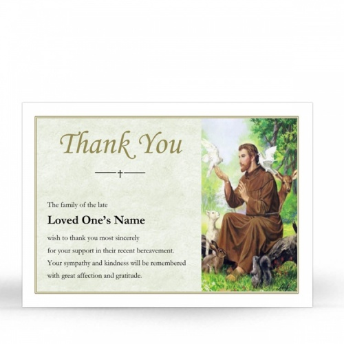ST07 Memorial Thank You Card