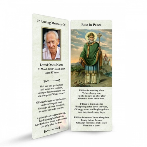 ST08 Memorial Bookmark