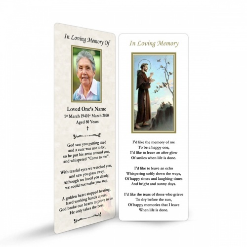 ST09 Memorial Bookmark