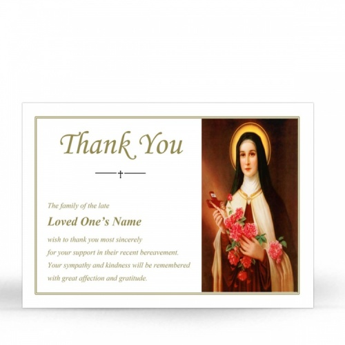 ST11 Memorial Thank You Card