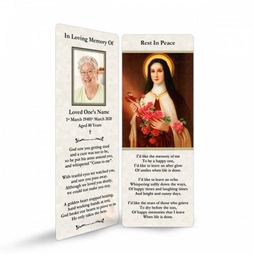 ST11 Memorial Bookmark