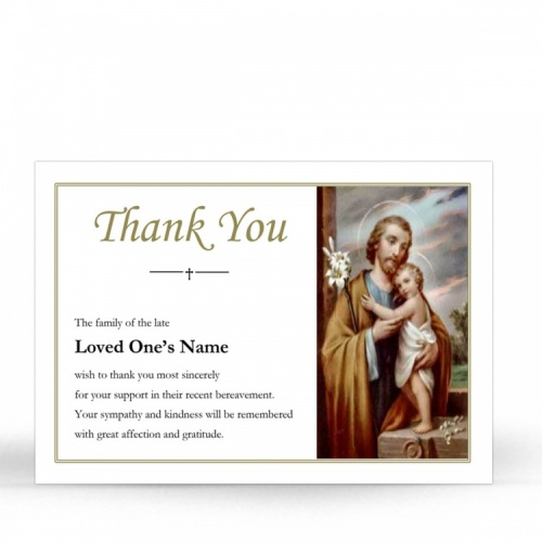 ST13 Memorial Thank You Card