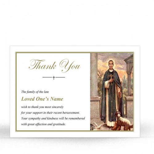 ST14 Memorial Thank You Card