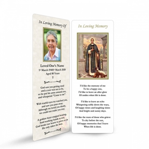 ST14 Memorial Bookmark
