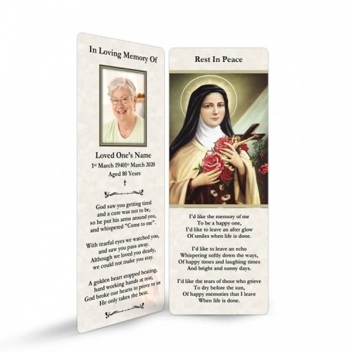ST16 Memorial Bookmark