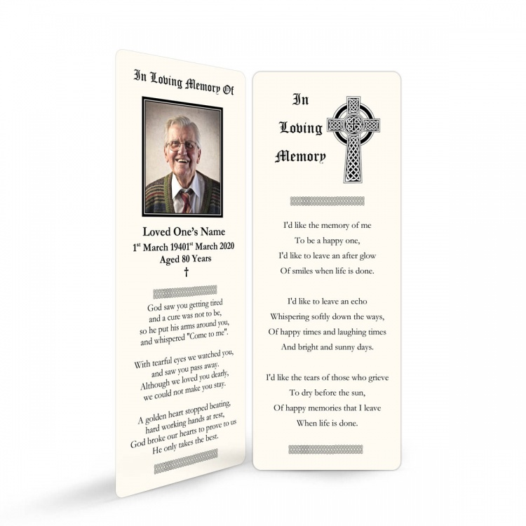 CEL56 Memorial Bookmark