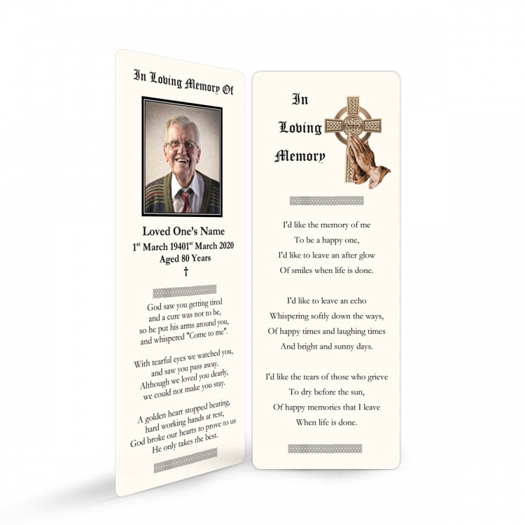 CEL57 Memorial Bookmark