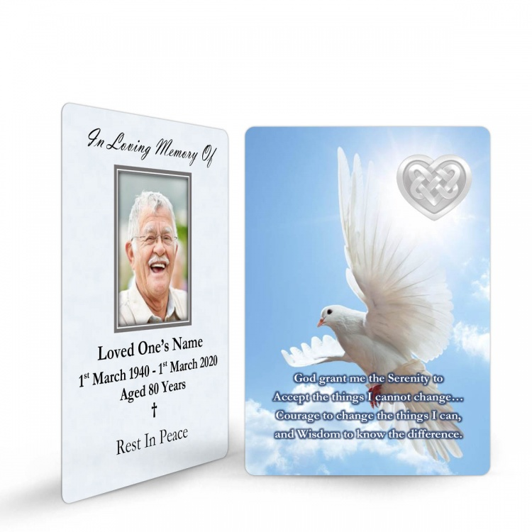 CEL61 Memorial Wallet Card