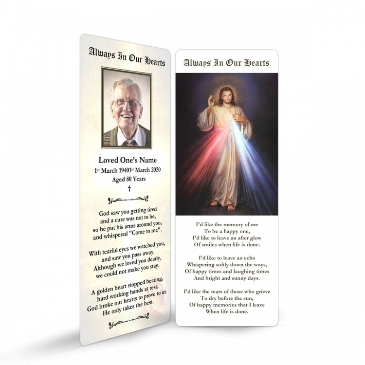 JC07 Memorial Bookmark