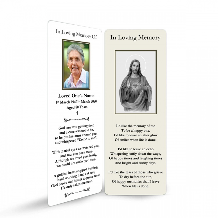 JC39 Memorial Bookmark