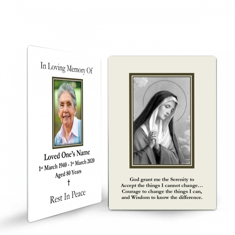 MARY47 Memorial Wallet Card