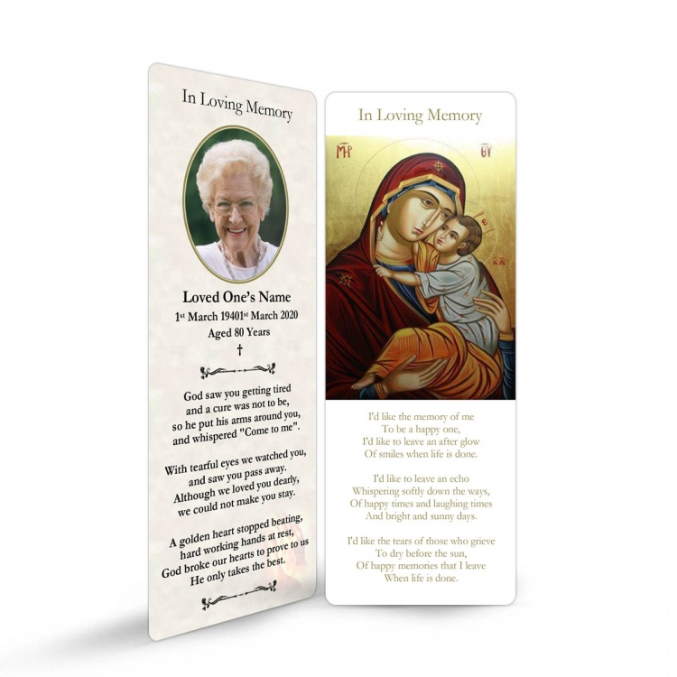 MAR02 Memorial Bookmark