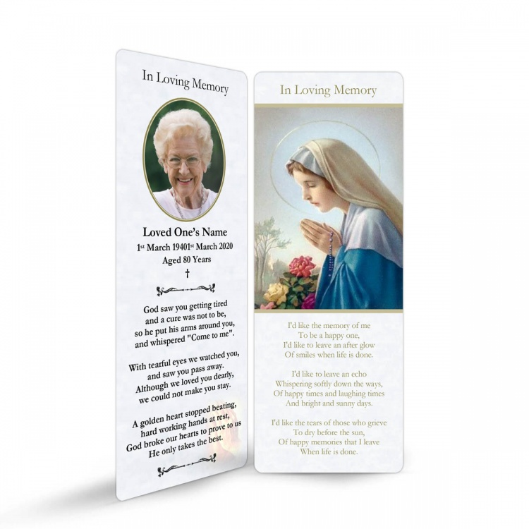 MAR07 Memorial Bookmark