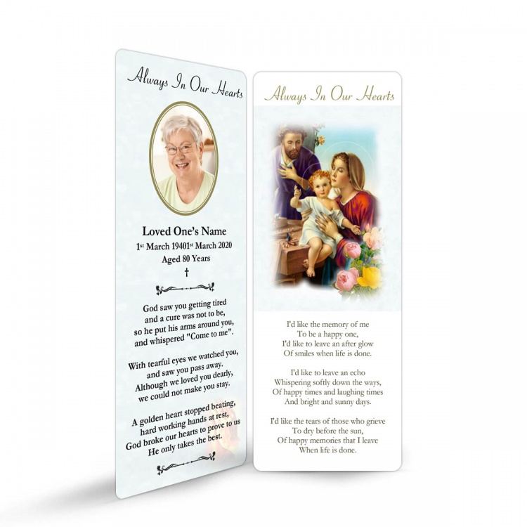 REG101 Memorial Bookmark