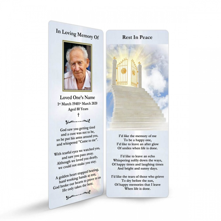 REG03 Memorial Bookmark