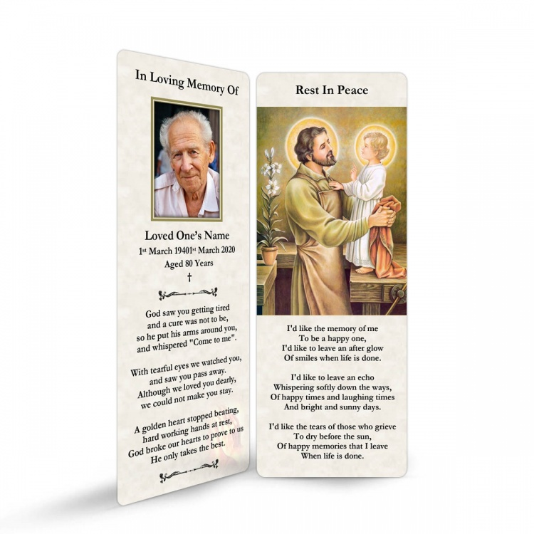 ST05 Memorial Bookmark