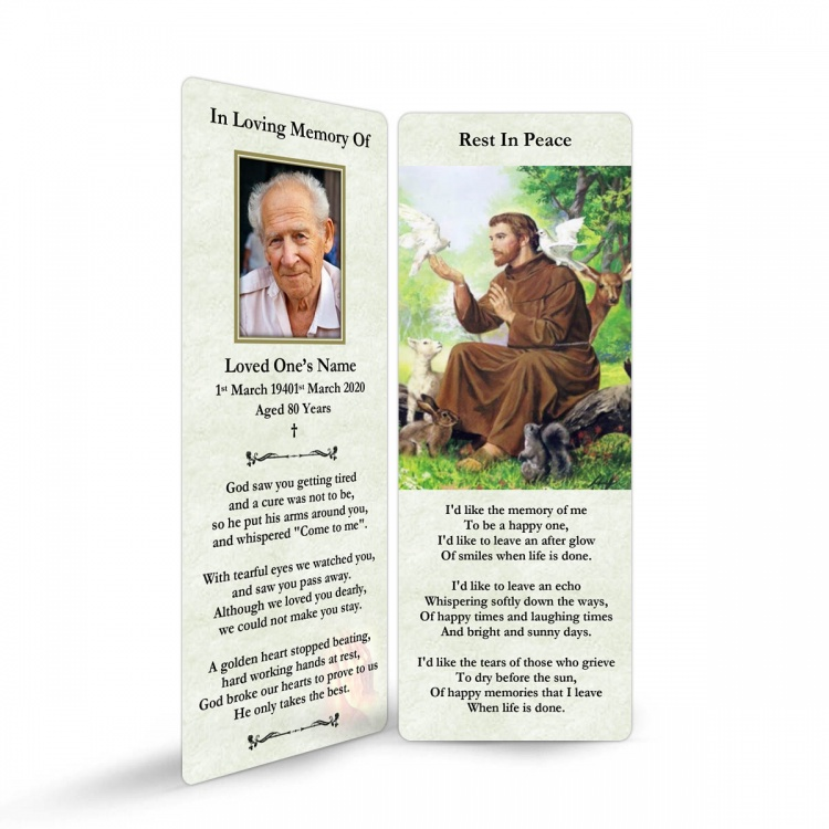 ST07 Memorial Bookmark