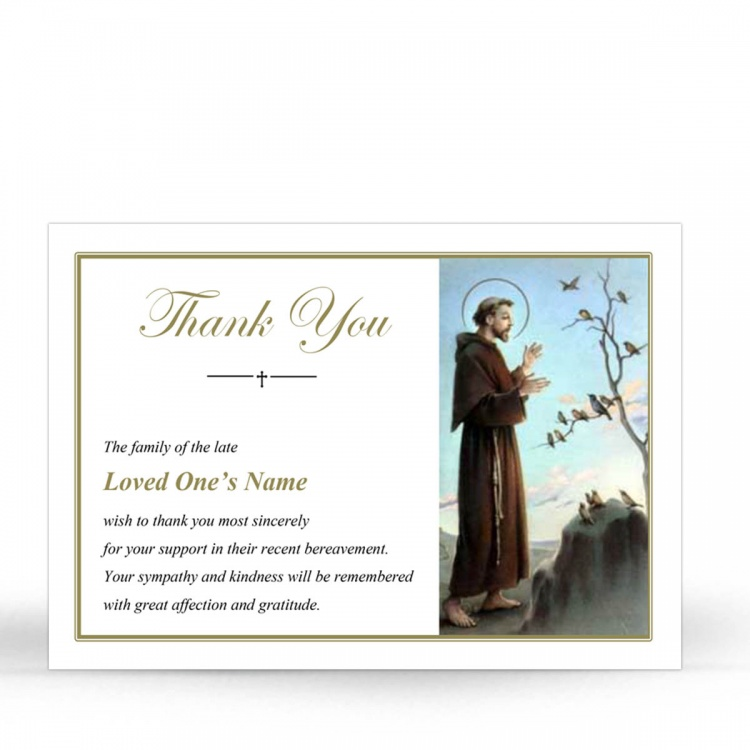 ST09 Memorial Thank You Card