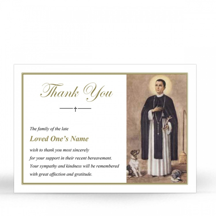 ST15 Memorial Thank You Card