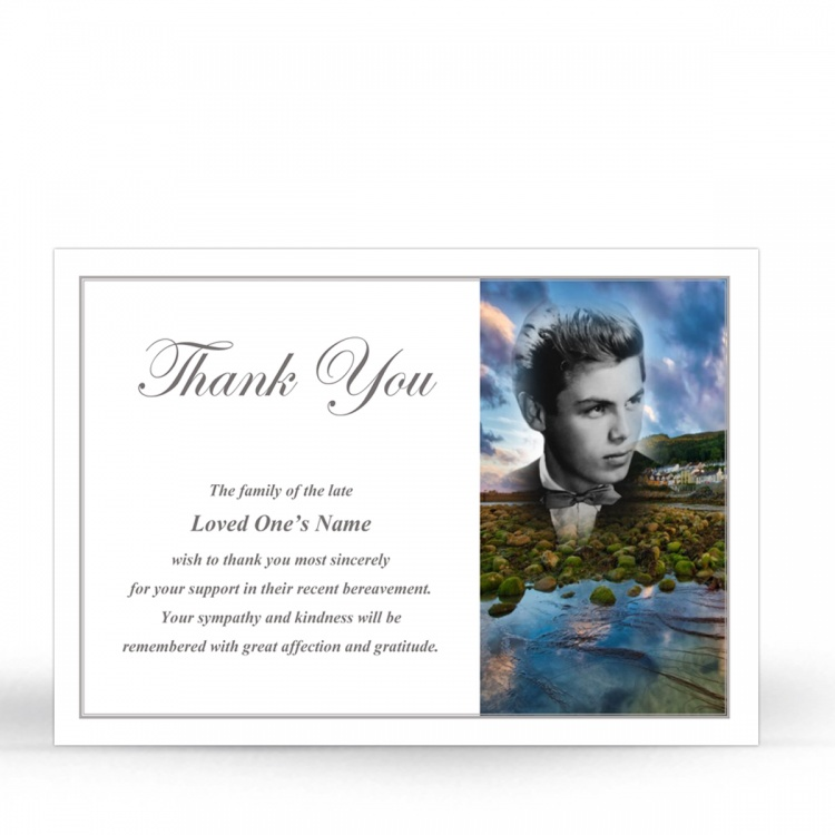 FLW82 Memorial Thank You Card